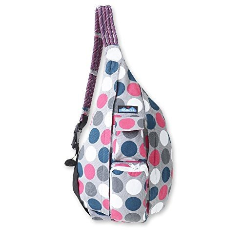 923 One Size KAVU Rope Bag, Got Dots, One Size