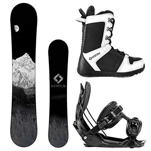 好きに Size 8 Boots MTN Medium Bindings 8 Camp Size Seven System MTN Snowboard and Flow Alpha MTN Men's Complete Snowboard Package 2018 (144, Size 8, 和木綿の宮田織物:044a985a --- airmodconsu.dominiotemporario.com