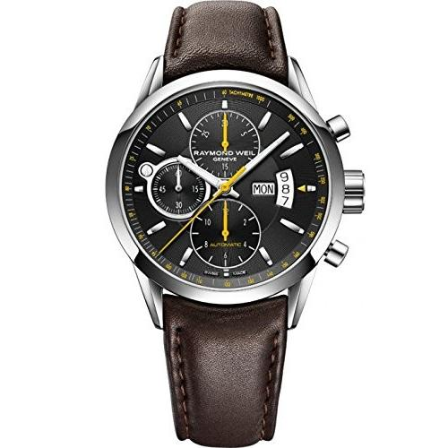 超熱 Raymond Weil Freelancer Automatic Watch, Raymond Black, Watch, Chronograph, Day and Weil date, 灘区:1cc49ddc --- opencandb.online