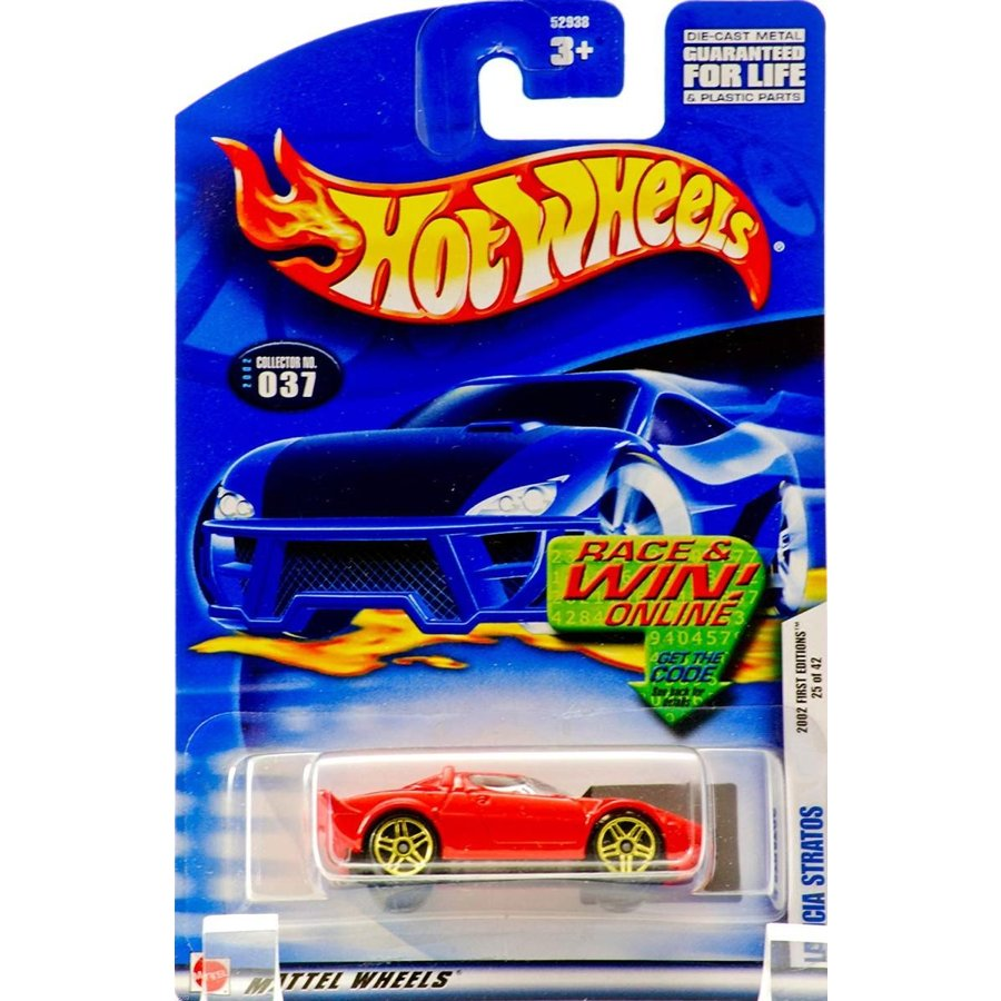 ホットウィールHot Wheels 2002 Collector No. 037 - Lancia Stratos - 25 of 42