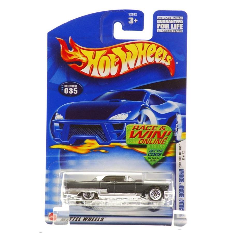 Hot Wheels 2002 First Editions '57 Cadillac Eldorado Brougham 23/42 黒 #035 #35