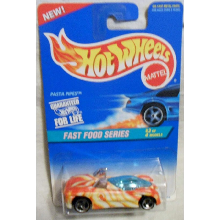 Hot Wheels Pasta Pipes #417 Fast Food Series