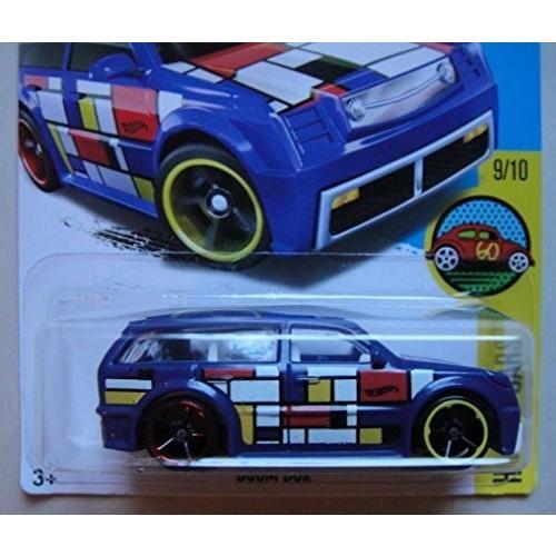 HOT WHEELS HW ART CARS 9/10 青 BOOM BOX 199/250 SHOWDOWN SCAN & RACE CARD