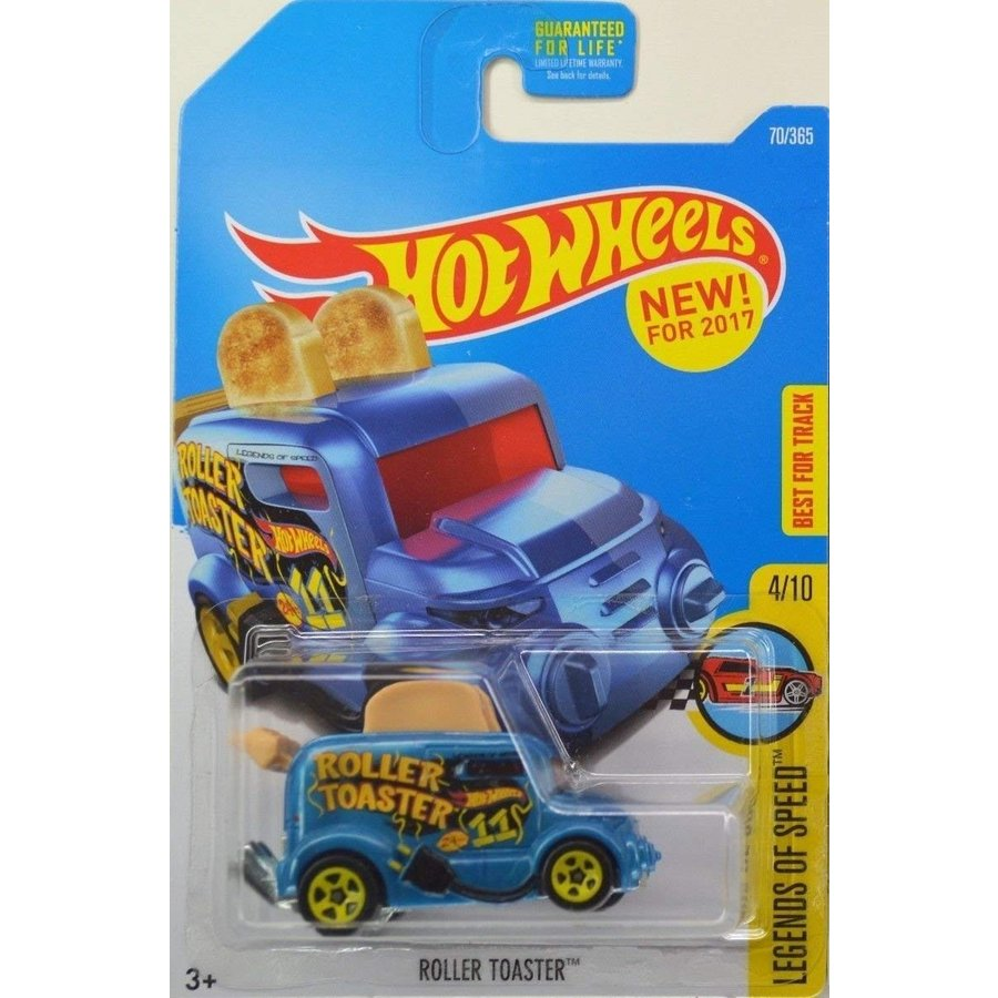 Hot Wheels 2017 Legends of Speed Roller Toaster (Toaster Car) 70/365, 青