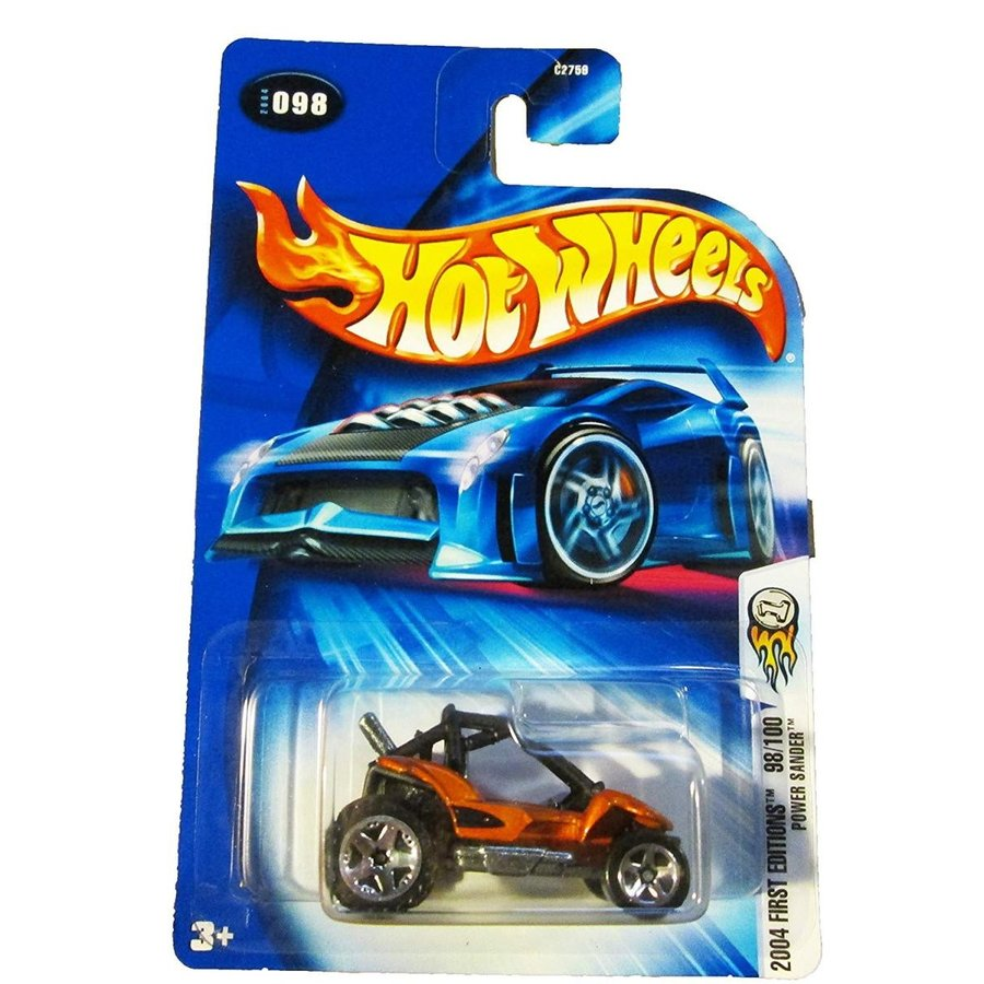 Hot Wheels 2004 First Editions Power Sander 98/100 オレンジ 098 1:64 Scale
