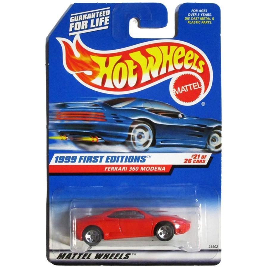 Hot Wheels 1999 First Editions -#21 Ferrari 360 Modena Logo #1113 Collectible Collector Car Mattel