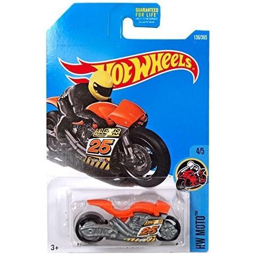 Hot Wheels 2017 HW Moto 4/5 Street Stealth 136/365, オレンジ