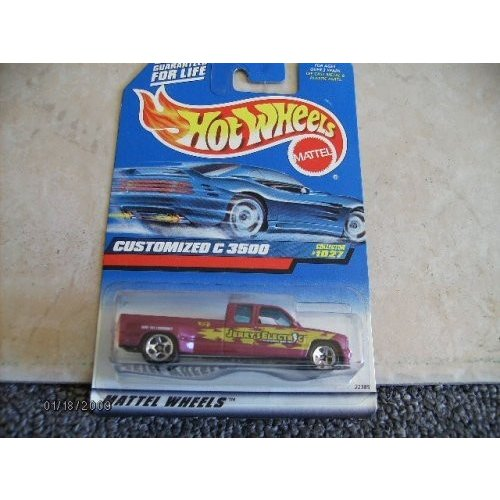 Hot Wheels Customized 3500 #1027 Jerry's Electric 1:64 Scale