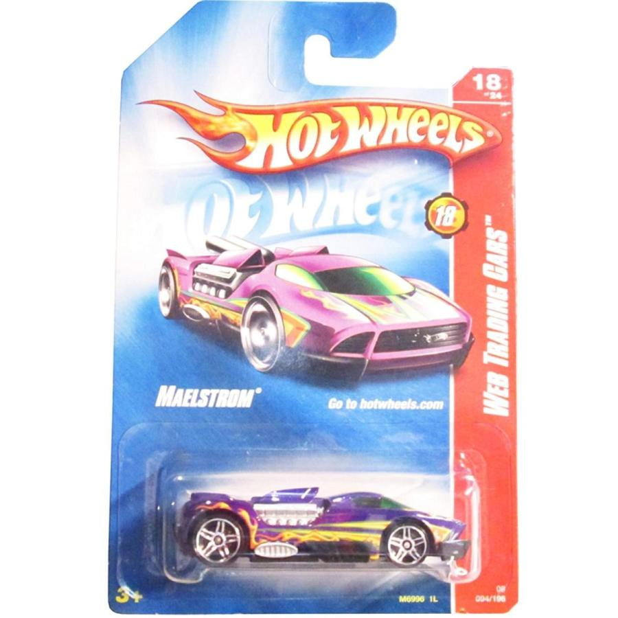 2008 Hot Wheels Web Trading Cars 紫の Maelstrom w/ PR5s #094 (18 of 24)
