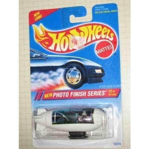 Hot Wheels Photo Finish Series 2 Flyin' Aces Blimp Hollywood Image #332 1:64 Scale
