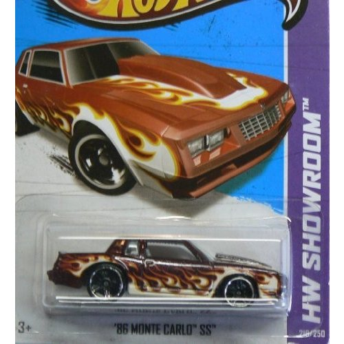86 Monte Carlo SS '13 Hot Wheels 216/250 (赤) Vehicle by Hot Wheels