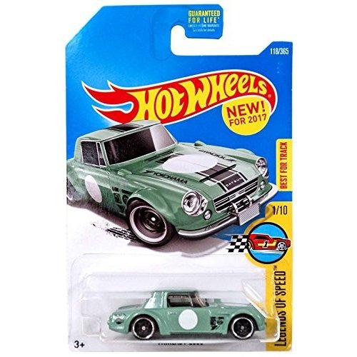 Hot Wheels 2017 Legends of Speed Datsun Fairlady 2000 118/365, Pale 緑