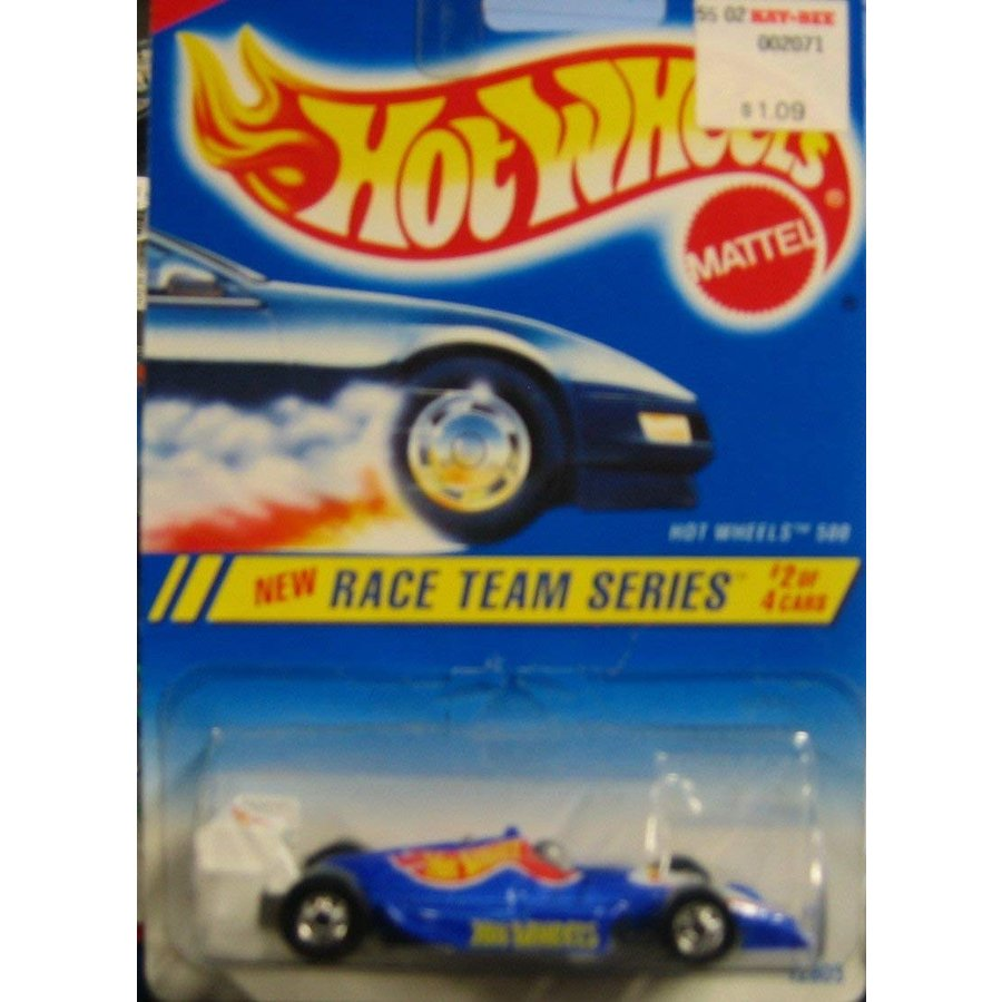 1:64 Scale 1994-1995 Hot Wheels Race Team Series 2 of 4 HOT WHEELS 500 #276 青 card (青 INDY CAR)
