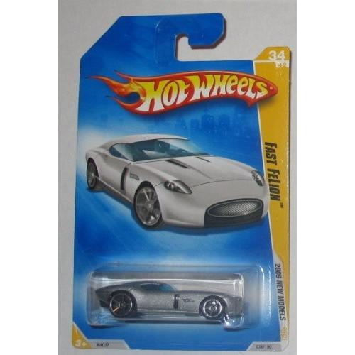 Hot Wheels 2009 New Models Fast Felon 銀 34/42 #34