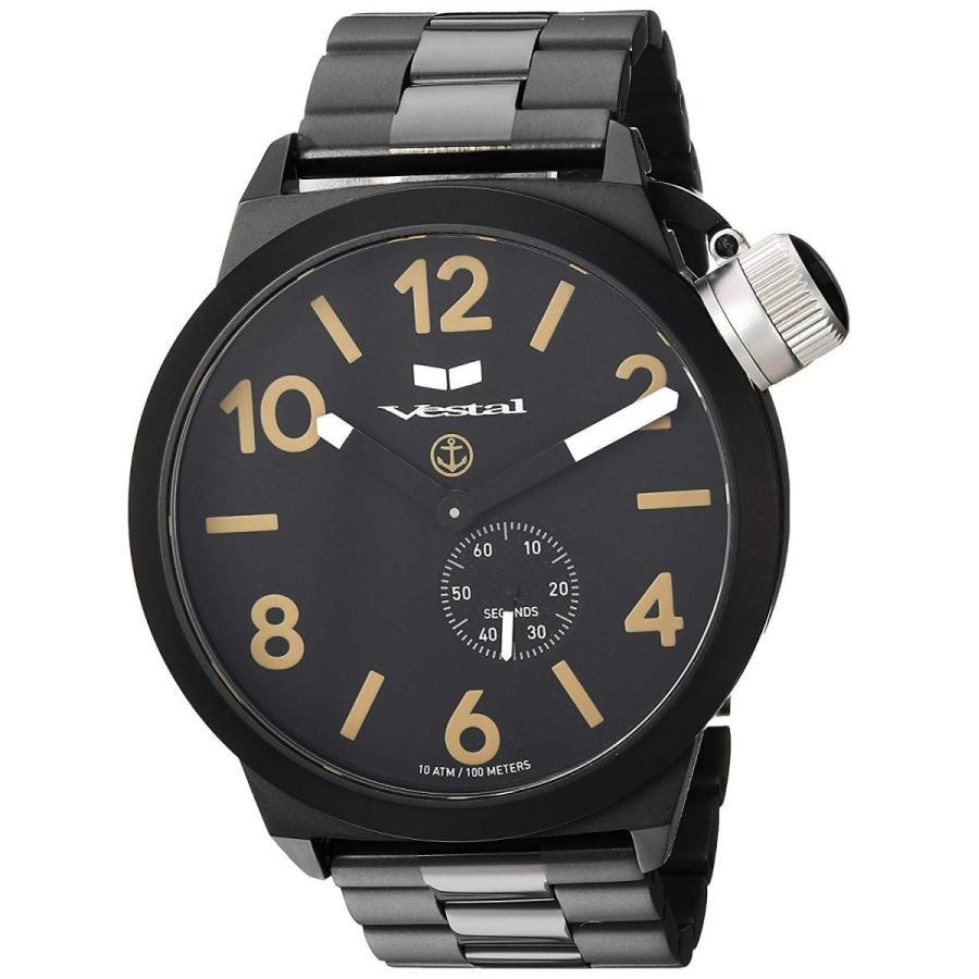 超特価SALE開催! Vestal Unisex CNT453M07.3BKM Black Canteen Analog Metal Analog Display Analog Analog Quartz Black Watch, 【ムーミン専門店】ロッドユール:befa55ac --- airmodconsu.dominiotemporario.com