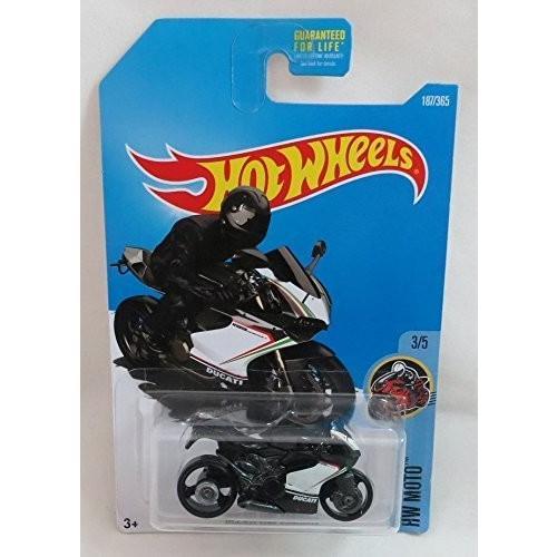 1:64 Scale Hot Wheels 2017 HW Moto Ducati 1199 Panigale (Motorcycle) 187/365, 黒