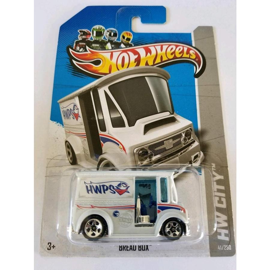 Hot Wheels 2013 Regular Treasure Hunt Hw City - Bread Box (Postal Service)