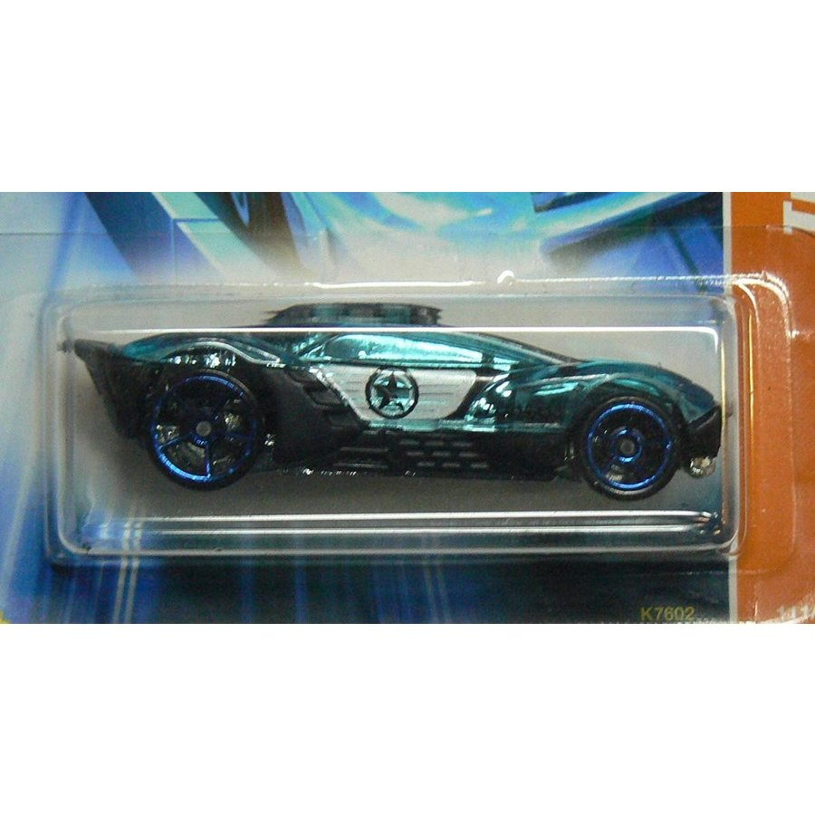 Hot Wheels Track Stars Series #3 Split Decision 黒 And 青 #2007-111 Collectible Collector Car Mattel