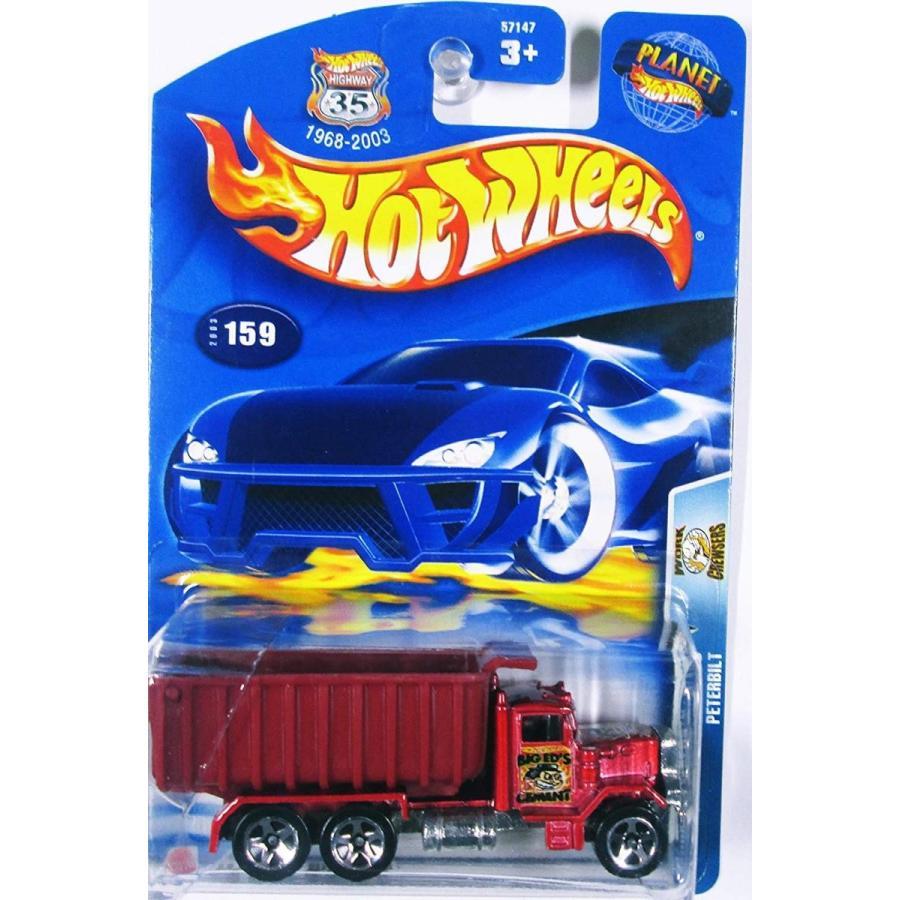 ホットウィールHot Wheels Peterbilt 5/10 Work Crewsers 2003 #159