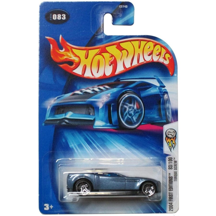 Hot Wheels 2004 First Editions Torque Screw - 83/100 on Alternate Card
