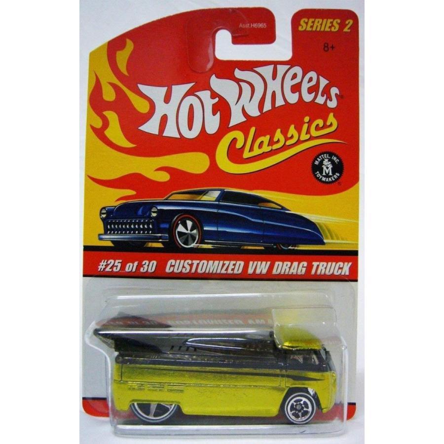 ホットウィールHot Wheels Classics Series 2 Customized VW Drag Truck 25/30 Collector Car