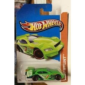 Hot Wheels 2013 HW Stunt 95/250 Time Tracker 緑