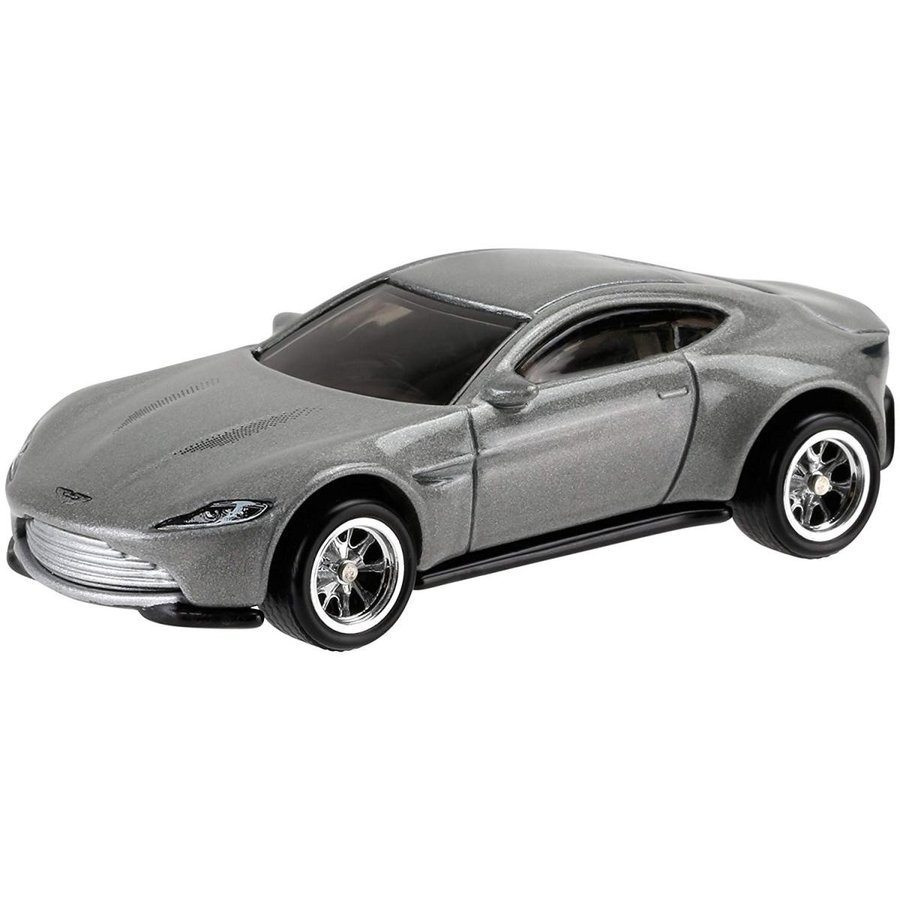 One Size Hot Wheels Retro Entertainment Diecast Aston Martin DB10 Vehicle