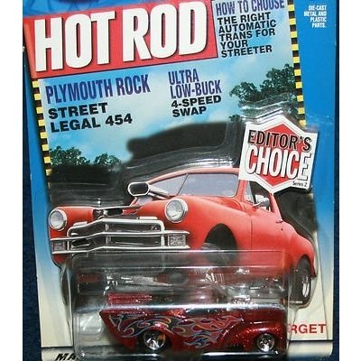 1:64 Scale Hot Wheels - Hot Rod Magazine - Editor's Choice - Series 2 - '41 Willys - 1:64 Scale Classic Collector Car Replica
