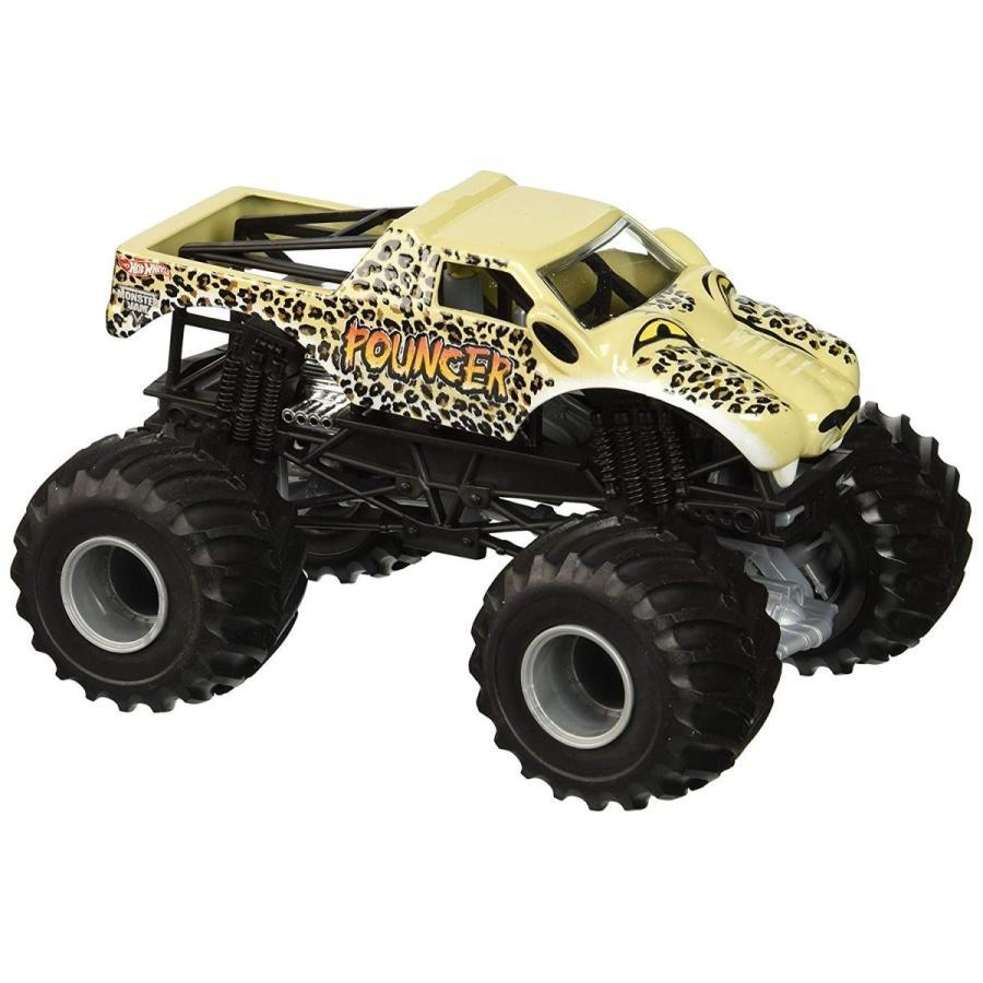 ホットウィールHot Wheels Monster Jam 1:24 Scale Pouncer Vehicle