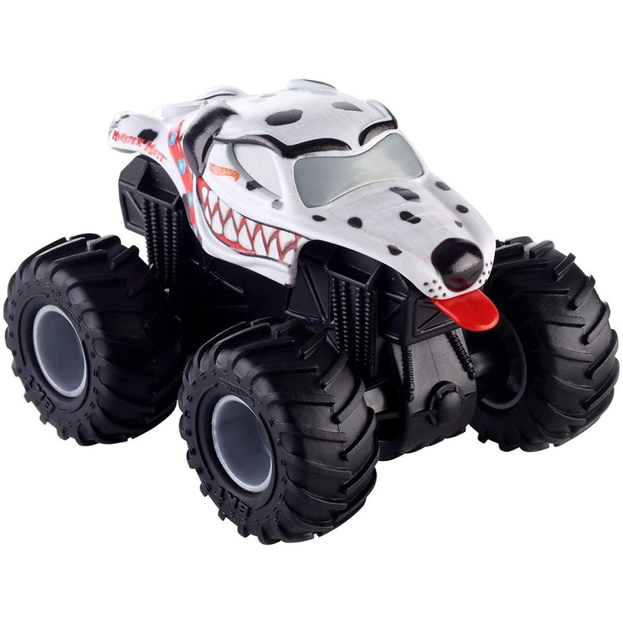 ホットウィールHot Wheels Monster Jam RT Monster Mutt Dalmatian Truck