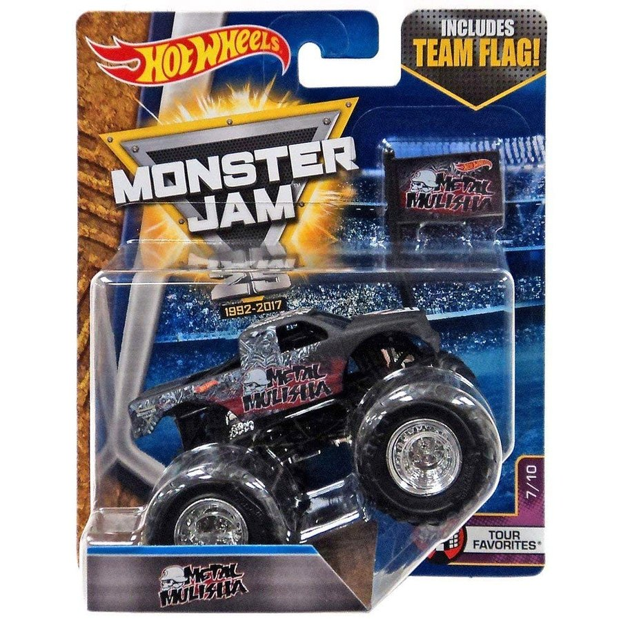 Hot Wheels Monster Jam Metal Mulisha Team Flag Tour Favorites 7/10