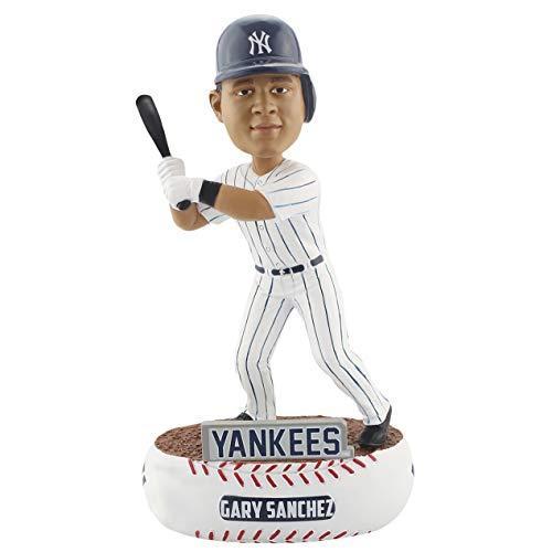 ボブルヘッドForever Collectibles Gary Sanchez New York Yankees Baller Special Edition Bobblehead MLB