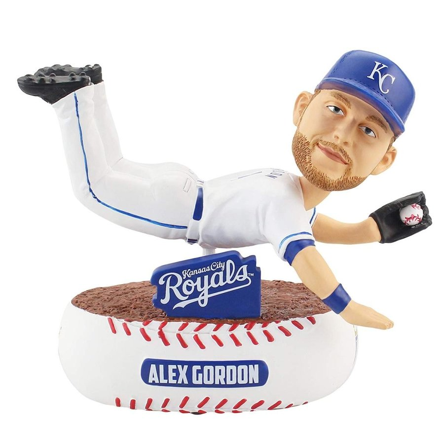 Forever Collectibles Alex Gordon Kansas City Royals Baller Special Edition Bobblehead MLB