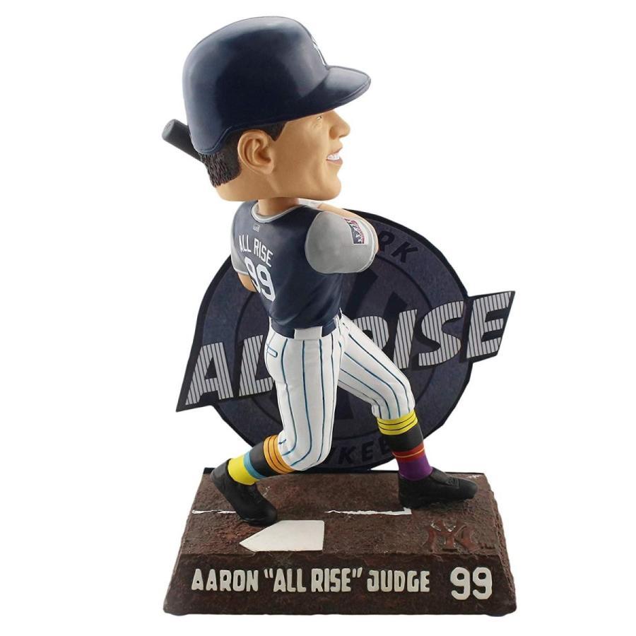 ボブルヘッドForever Collectibles Aaron Judge New York Yankees Players Weekend - All Rise Bobblehead MLB