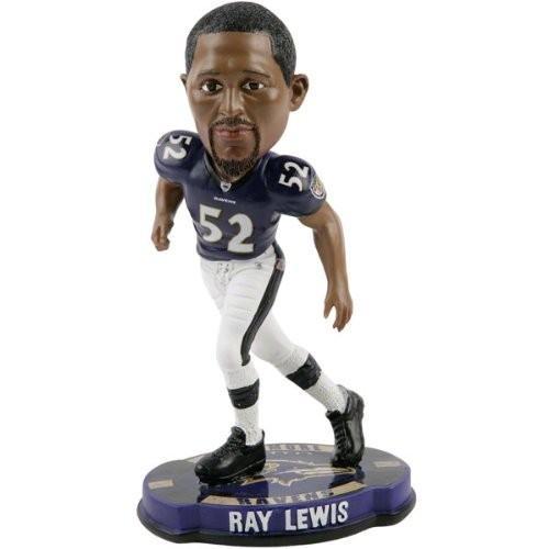 ボブルヘッドRay Lewis Baltimore Ravens 2012 NFL Forever Collectibles Bobble Head