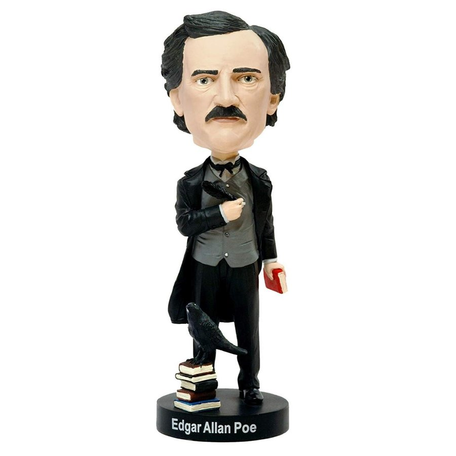 ボブルヘッドRoyal Bobbles Edgar Allan Poe Bobblehead