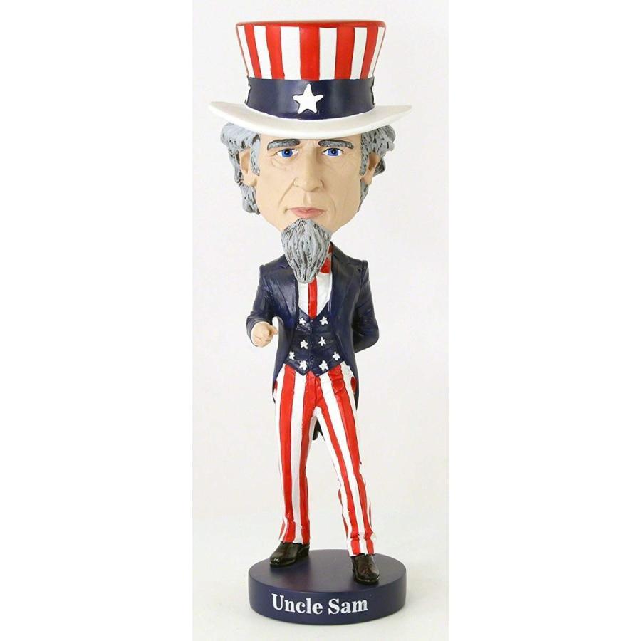 ボブルヘッドRoyal Bobbles Uncle Sam Bobblehead
