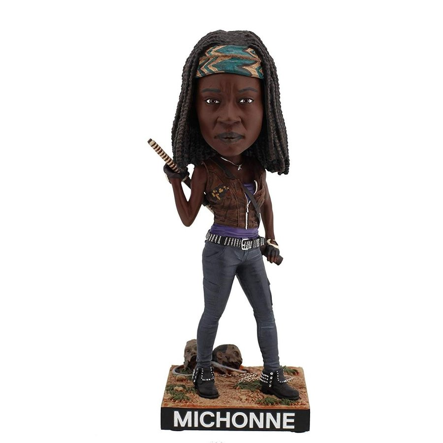 8 inches Royal Bobbles The Walking Dead Michonne Bobblehead