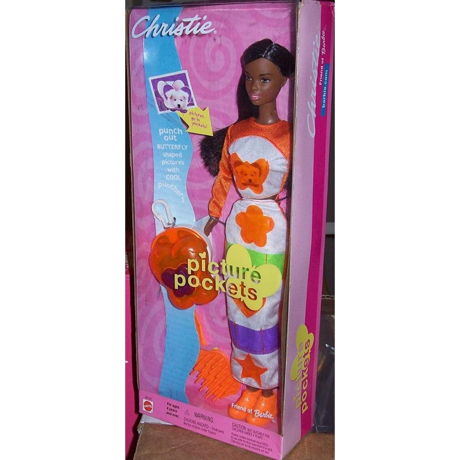 Christie Picture Pockets Doll Friend of Barbie