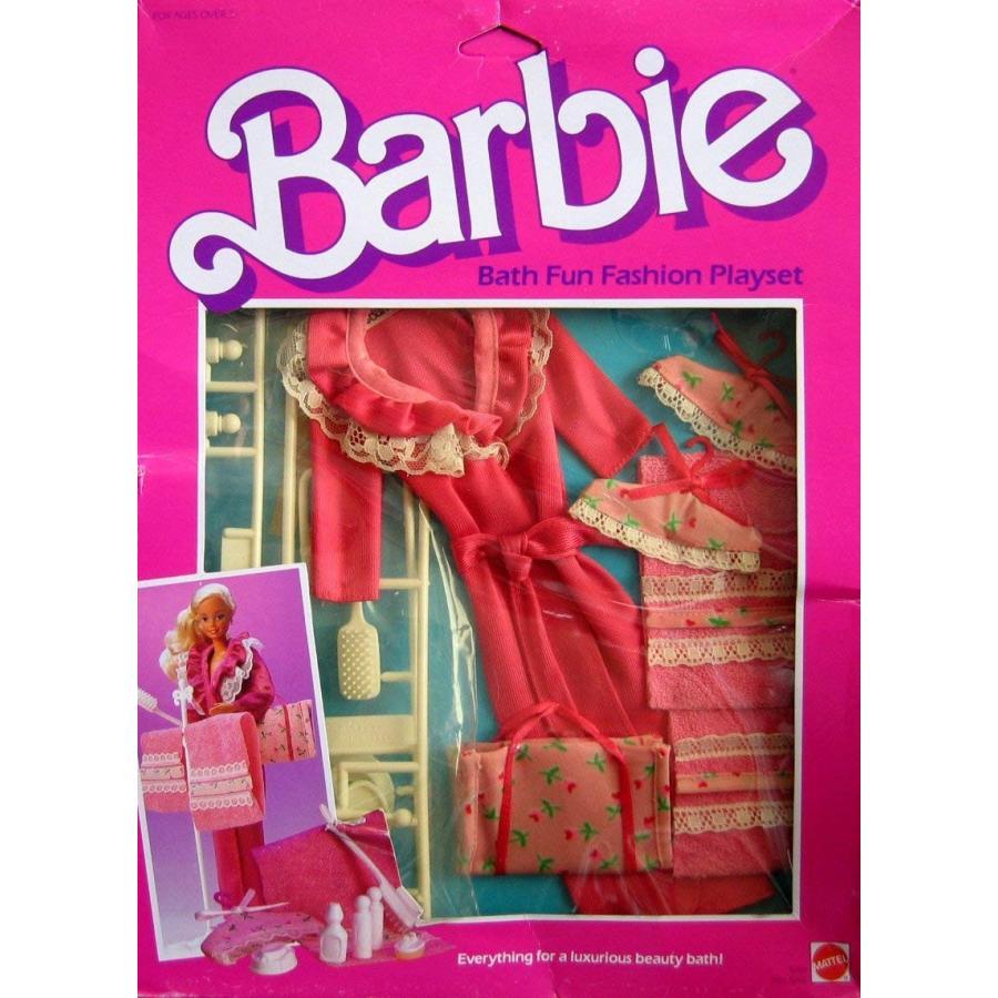 バービーBarbie Bath Fun Fashion Playset (1984)