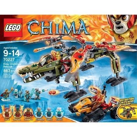 レゴ863 Pieces LEGO Chima King Crominus' Rescue Model#70227