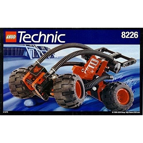 レゴLego 8226 Technic Tech Play Mud Masher Set