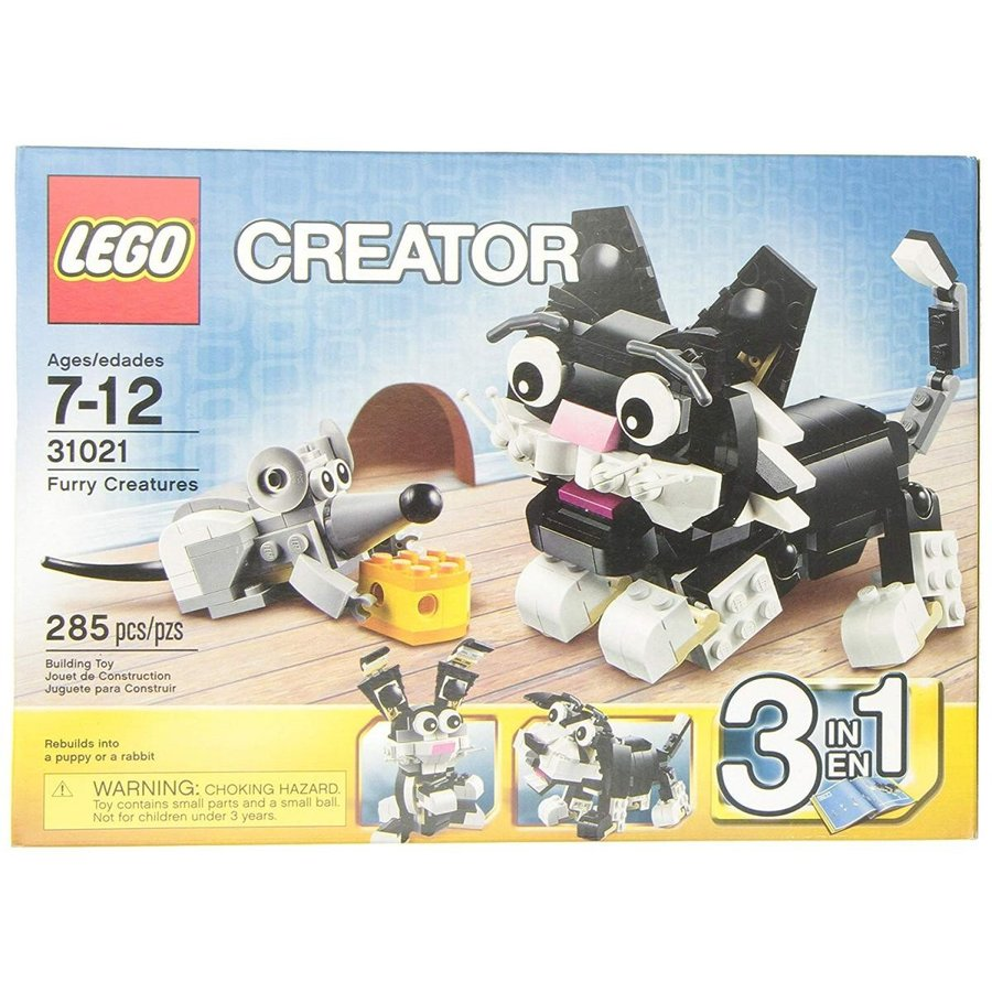 One Size LEGO Creator 31021 Furry Creatures