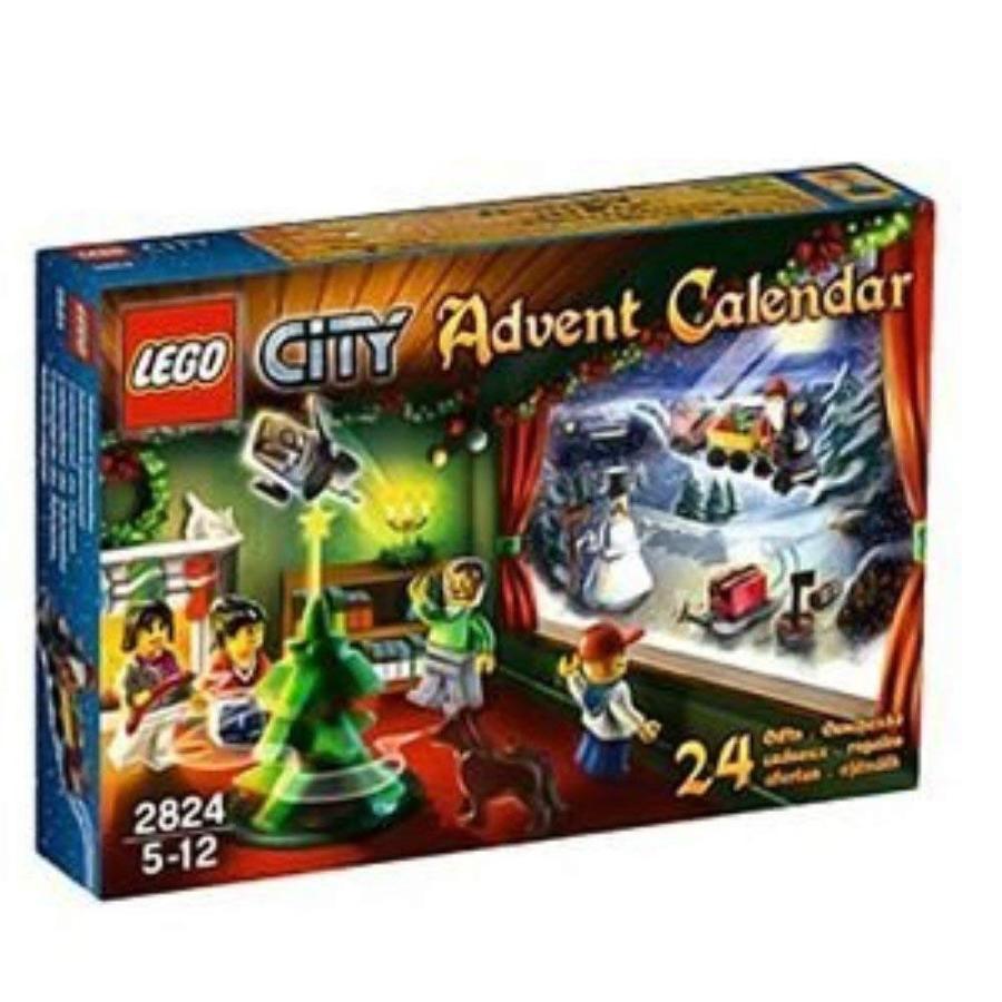 レゴLEGO (City Advent Calendar 2824