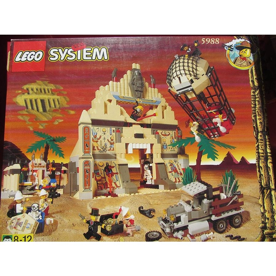 LEGO Adventurers 5988 Pharaoh's Forbidden Ruins