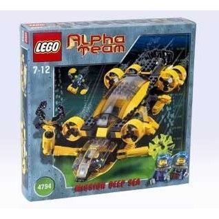 レゴLEGO Alpha Team: Mission Deep Sea 4794 AT Command Patrol