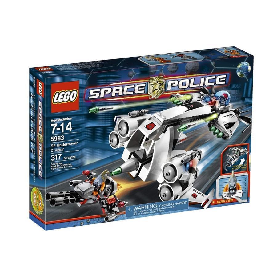 レゴLEGO Space Police SP Undercover Cruiser 5983