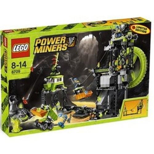 レゴLEGO Power Miners Set #8709 Underground Mining Station (Limited Edition)
