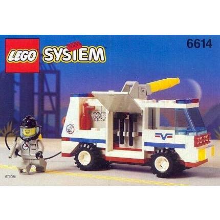 レゴLego System 6614 Launch Command Model 1995 119 Piece Set