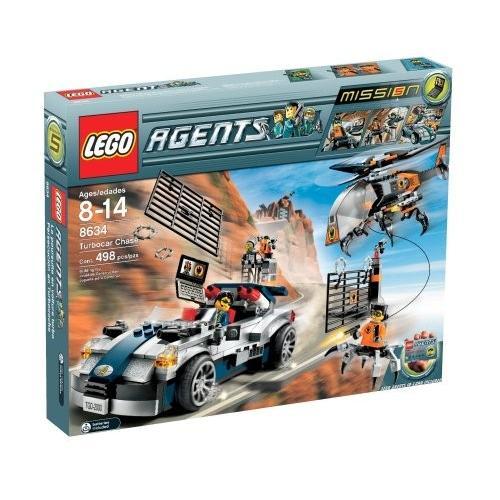 レゴLEGO Agents Turbo-Car Chase